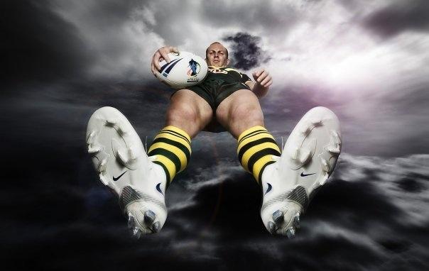 Former Australian Rugby League captain Darren Lockyer.