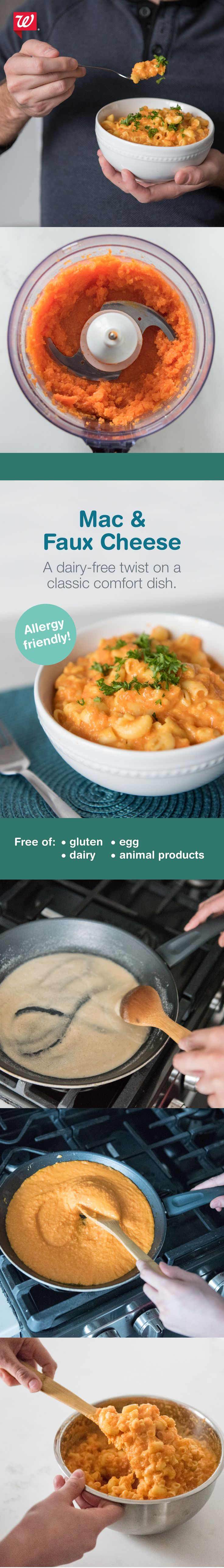Try our dairy-free twist on a classic comfort dish for family dinner. Find the full recipe on our blog.