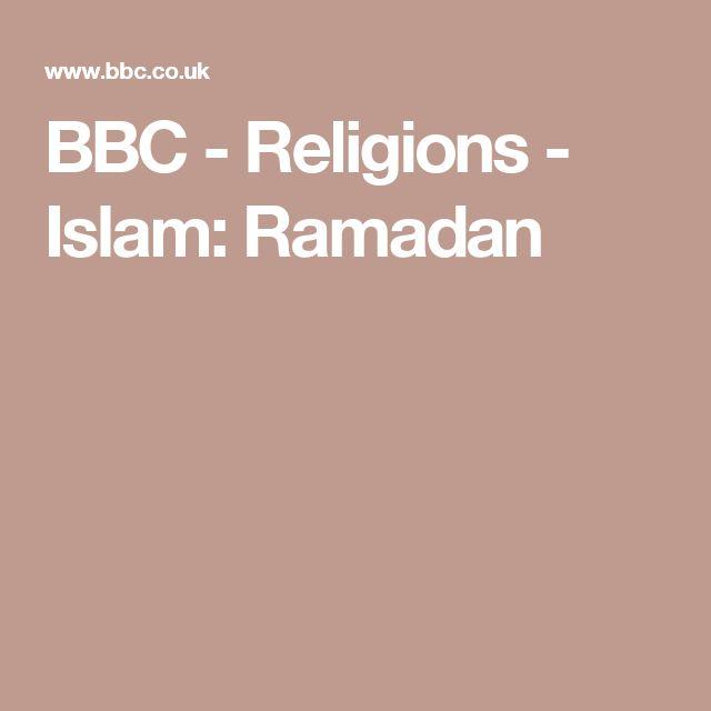 BBC - Religions - Islam: Ramadan