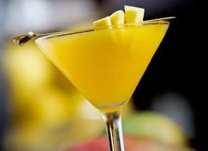 Mango Martini - the best martini drink you've ever tasted.  Just in time for your NYE party!    CLICK to see a video of me making it.  1 oz mango nectar  1 oz vodka  1 oz peach schnapps  2 oz malibu rum    Yes, there's a lot of alcohol in it, but it's absolutely delicious!    Enjoy!!