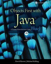 Java - BlueJ