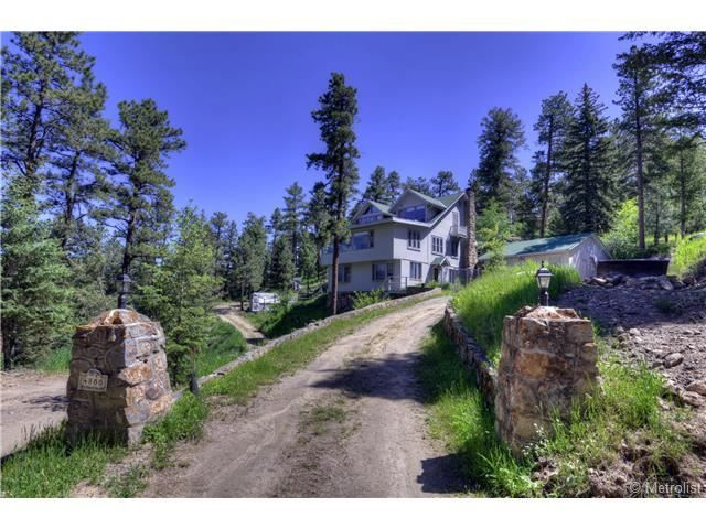 4800 Vail Place, Evergreen, CO 80439 — Vintage Evergreen home with fabulous mountain and Evergreen Lake views.