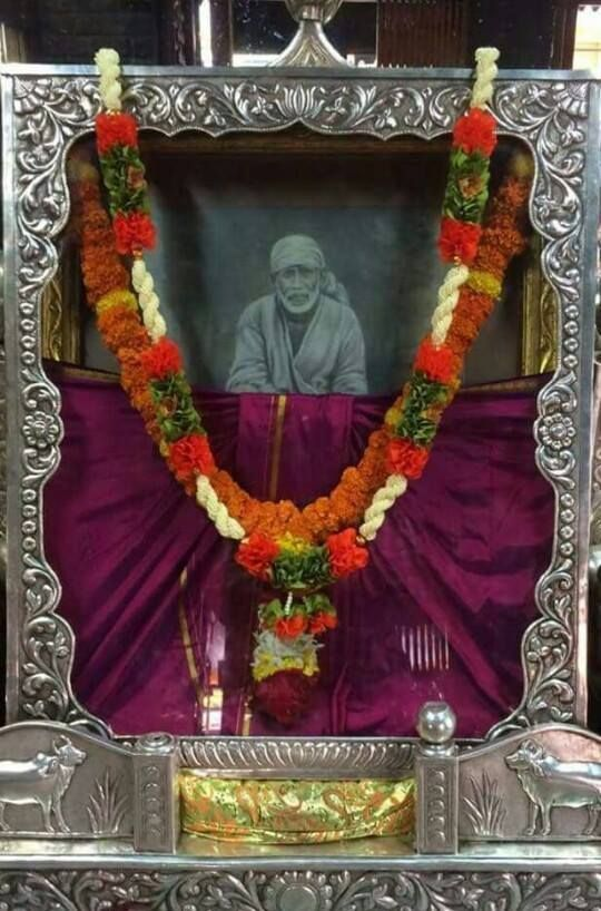 Once the strings of destiny is given in the hands of Sadguru then there is nothing to worry. Always say I am happy. - Shirdi Sai Baba #ShirdiSaiBabaWords