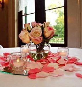 383 best 50th birthday images on pinterest weddings for Do it yourself centerpieces for birthday