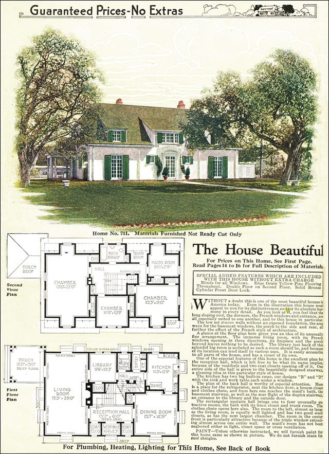 109 best kit homes images on pinterest vintage house for French eclectic house plans
