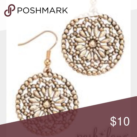 Park Lane COZUMEL gold Earrings Park Lane (Gold) Cozumel Earrings. Beautiful and easy to dress up with gold jewelry! Park Lane Jewelry Earrings