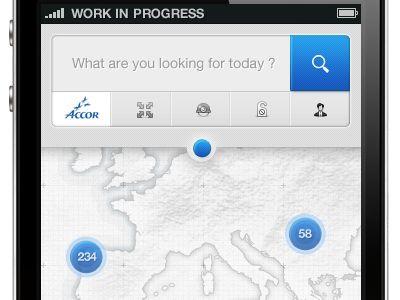 UltraUI   UI Design & Inspiration — 'iPhone App' by Rus Adrian Ewald