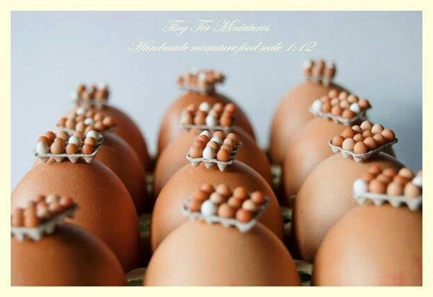 Miniature eggs