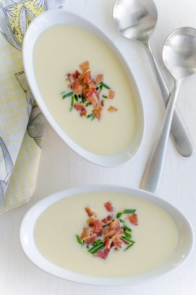 Recipe: Leek, Potato & Fennel Soup with Bacon — Weeknight Dinner Recipes from The Kitchn | The Kitchn