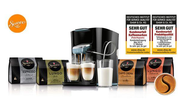 Gewinnspiel: Senseo Genießerpaket inkl. Senseo Latte Duo Kaffeepadmaschine