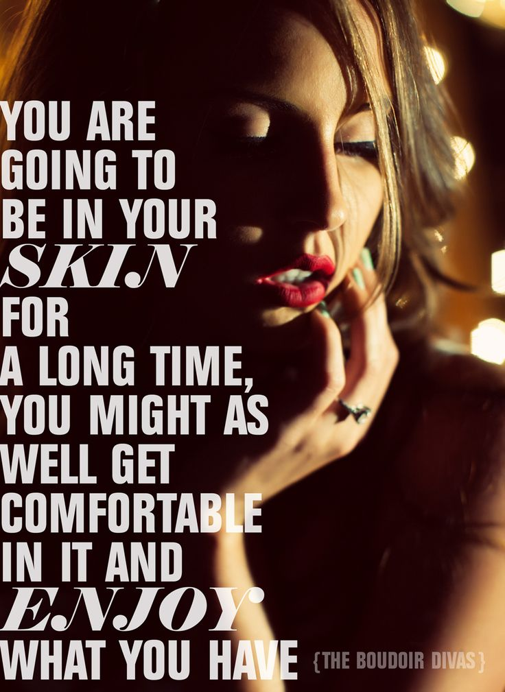 glamour quote sexy