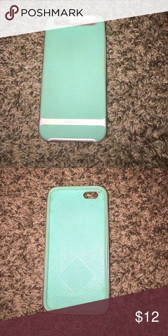 iPhone 6/6s case Light blue color. Wavelength caseology case Accessories Phone Cases