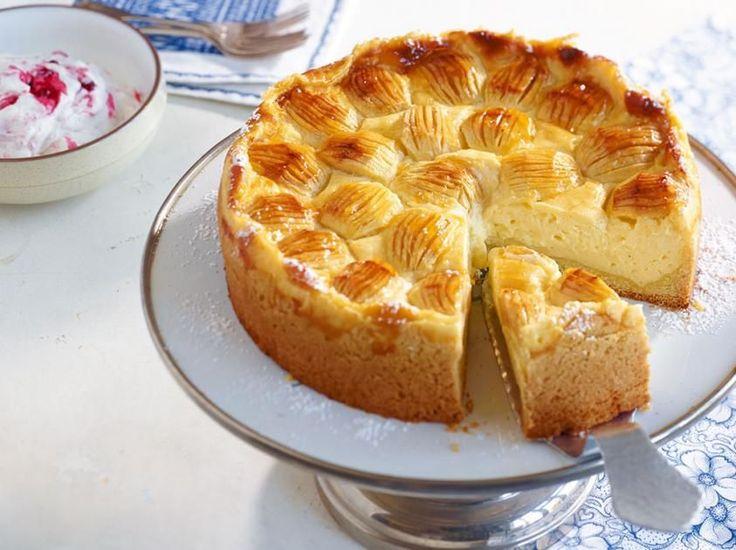 Apfel-Schmand-Kuchen - Die besten Apfelkuchen-Rezepte - [ESSEN UND TRINKEN]