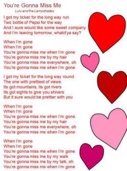 cups lyrics pitch perfect | You're Gonna Miss Me Lyrics