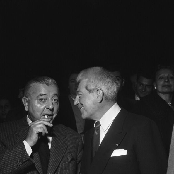 avec Jean Gabin