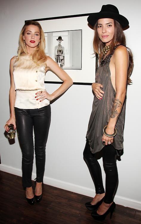 Amber Heard and her girlfriend Tasya van Ree