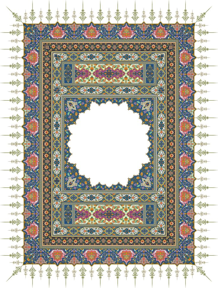 20-Floral Pattern (Khatai)