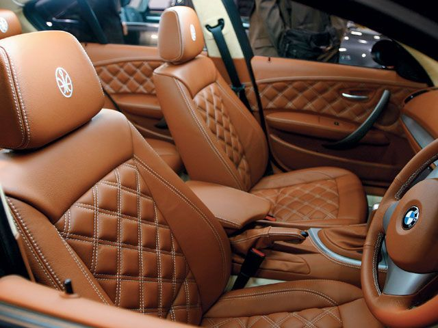 Elegant Custom Auto Seats