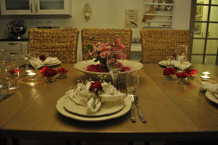 Rosen bord - Rose table