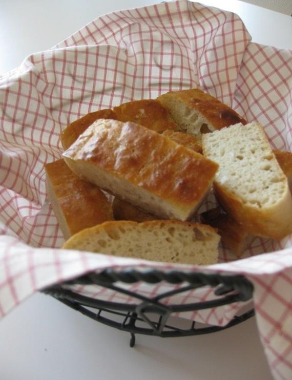 foccaccia brød