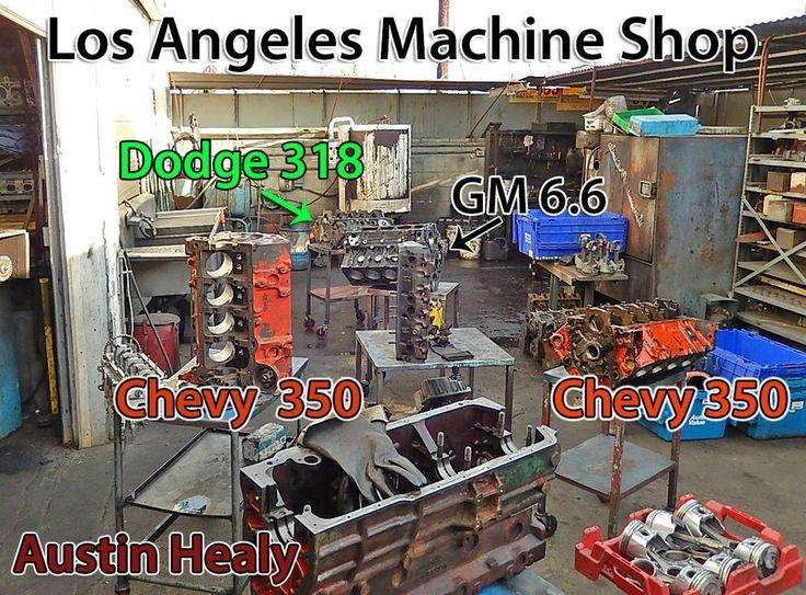 machine shop cylinder valve