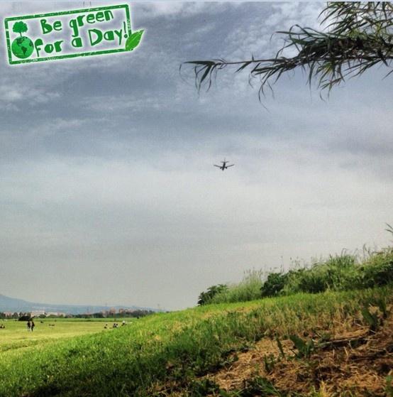 """#Groupon #begreenforaday  Partecipa all'iniziativa """"Be Green for a Day!"""" Inviaci una foto che rappresenta un messaggio a salvaguardia dell'ambiente e della natura!"""