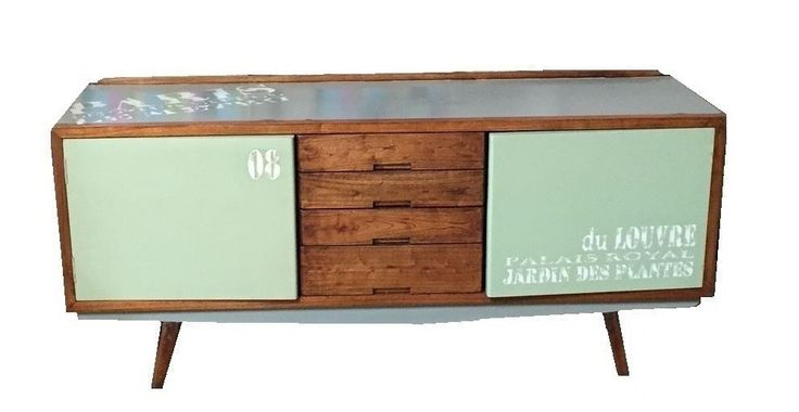 A retro styled buffet aesthetically designed to take you back to the 60's.  A combination of polished timber and a painted finish, it oozes style and functionality. $1,450
