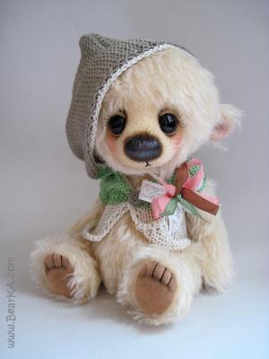 handmade teddy bear from http://bearka.com