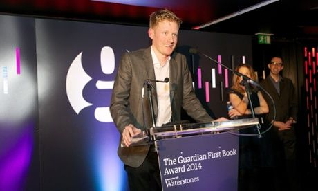 Winner of the Guardian first book award, Colin Barrett.