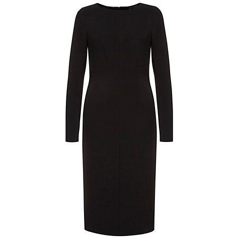 Buy Hobbs Teresa Dress, Black Online at johnlewis.com