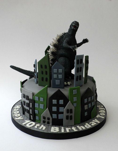 Godzilla Birthday Cake | Flickr - Photo Sharing!