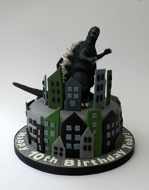 Godzilla Birthday Cake | Flickr - Photo Sharing!