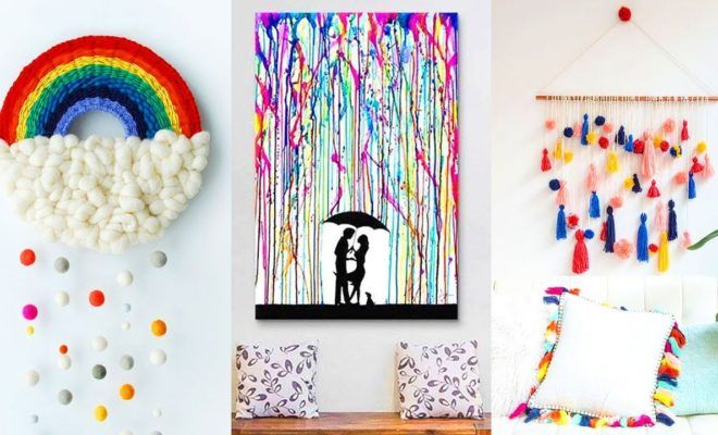 Diy Room Decor 4 Easy Crafts Ideas At Home Room Diy Diy And