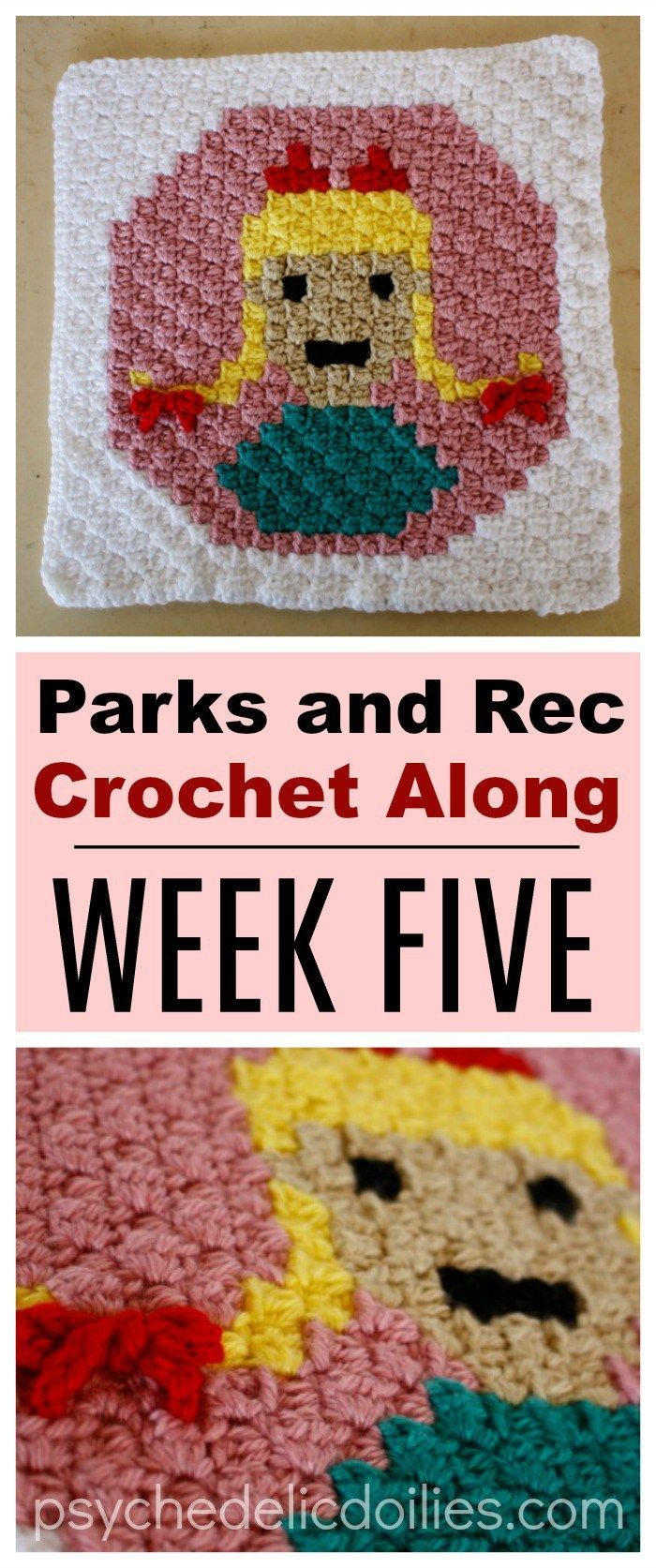 Parks and Rec Crochet Along Week 5 - Sweetums
