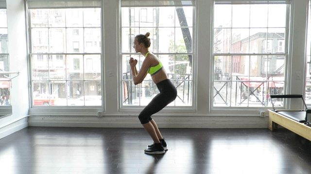 Working Out With Supermodel Karlie Kloss: The Better Butt GIF