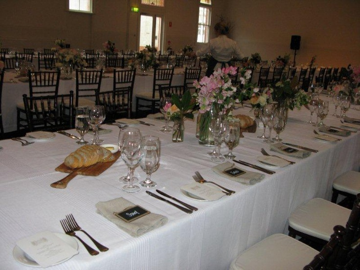 Wedding table decor by Bay Leaf Catering