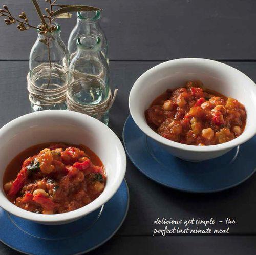 Chickpea & Chorizo Stew — alyce alexandra