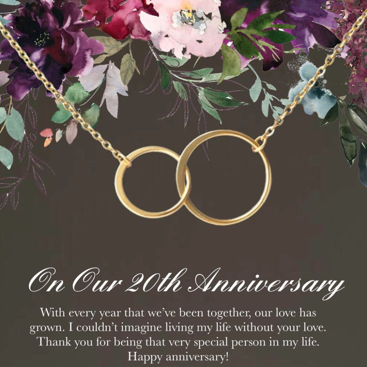 20th Anniversary Gift •20 year anniversary•Happy