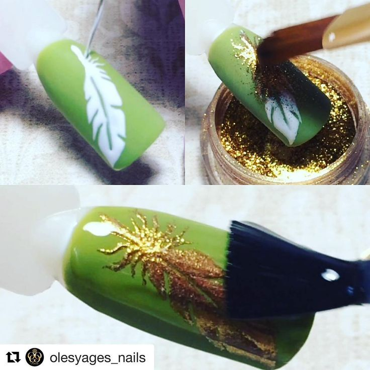 """1,141 Likes, 1 Comments - МК  от лучших нейл мастеров (@mknogti) on Instagram: """"#Repost @olesyages_nails with @repostapp ・・・ Сделано на материалах #patrisanail  1.по…"""""""