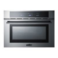 Keep your kitchen cooking along smoothly with the Verona 24 Inch 110 Volt Electric Wall Oven - 24 X 24 and its strong, reliable design.