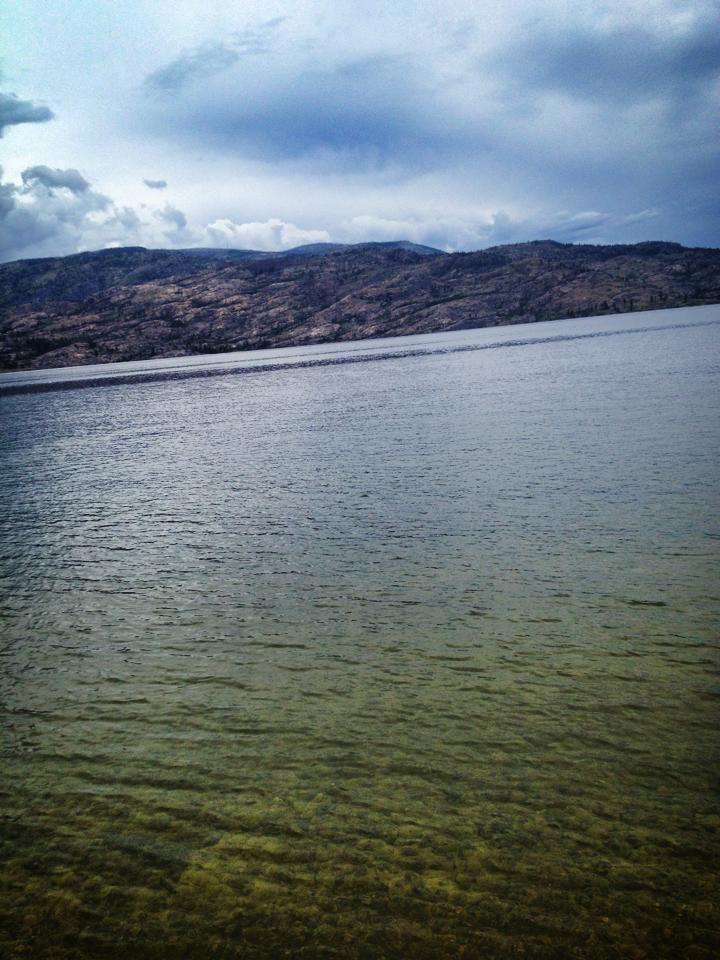 Kelowna clear water