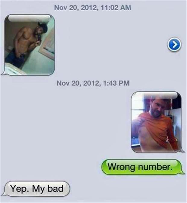 Wrong number bro