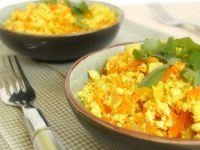 Cantinho Vegetariano: Tofu Mexido com Cenoura (vegana)