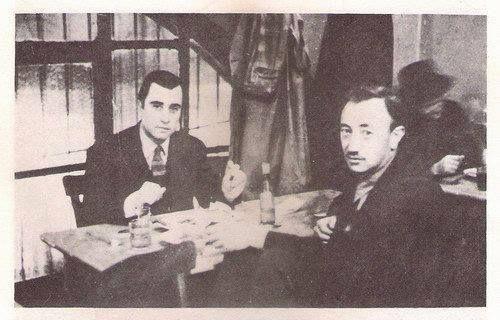 AFİF YESARİ- SAİT FAİK - BEYOĞLU CUMHURİYET MEYHANESİ-1945-