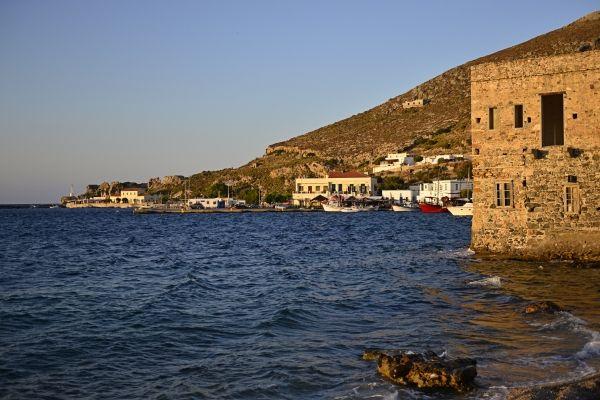 Evening colours in Agia Marina