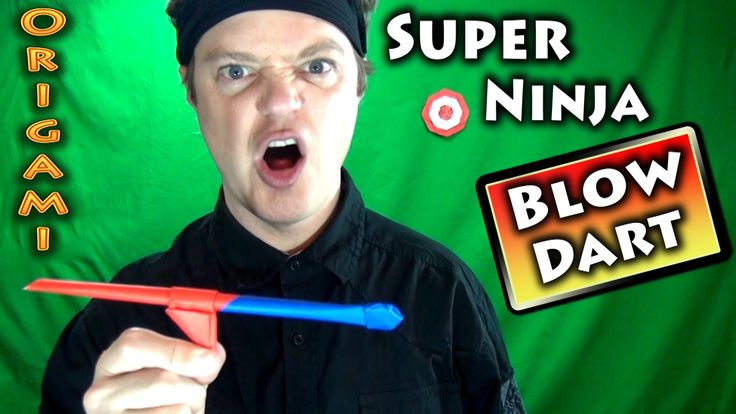 how to make a ninja dart