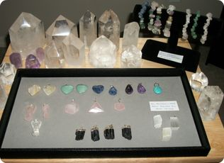 John of God Blessed Quartz Crystal and Gemstone Jewelry --Edmonton, Alberta All of these are blessed by John of God and are imbued with the healing energy of the enlightened beings of love and light that work through John of God.  They are a wonderful way to connect with and experience the John of God energy.  Great for healing, meditation, and connecting with your higher self as well.  FULL DETAILS AT:  http://www.sanctuaryofwellness.ca/john-of-god-blessed-crystalsjewelry.html