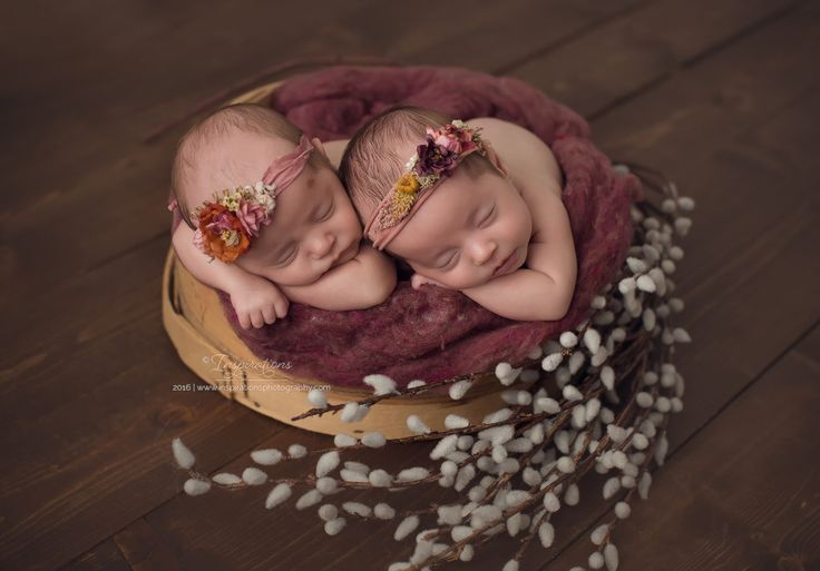 Murrieta CA newborn twins photography