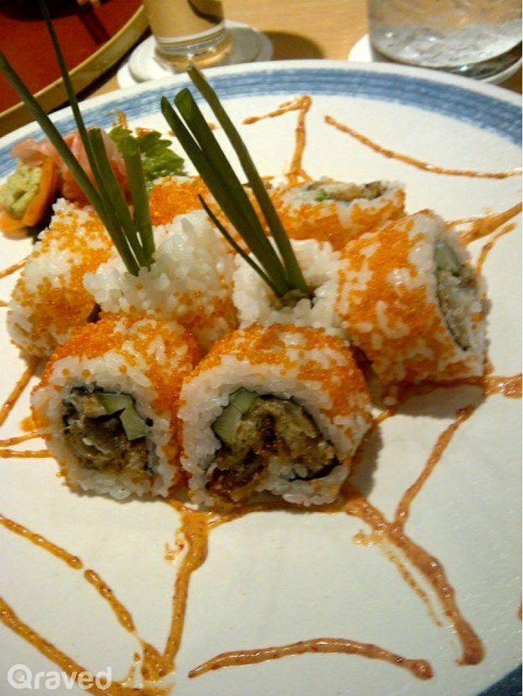 Spider sushi at Honzen