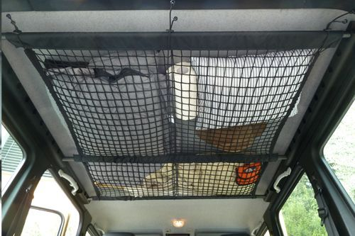 Raingler ceiling net from an Xterra - Toyota 4Runner Forum - Largest 4Runner Forum